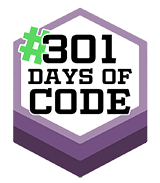 301 Days of Code Challenge – Official Website Logo